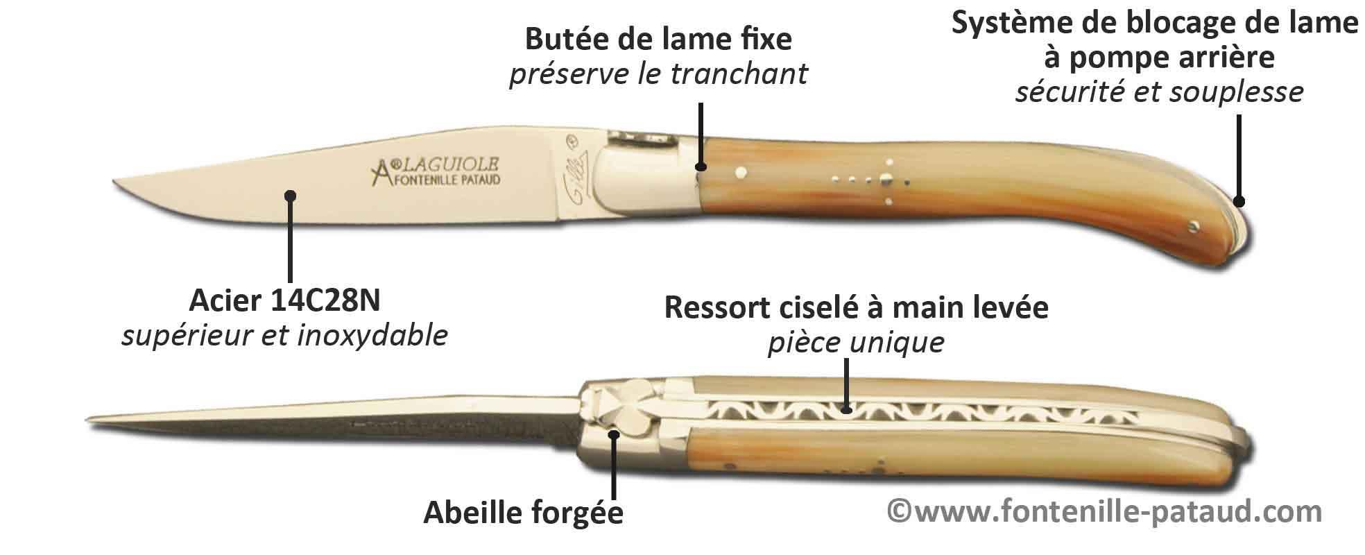 Couteau Laguiole XS, best seller des petits couteaux Laguiole