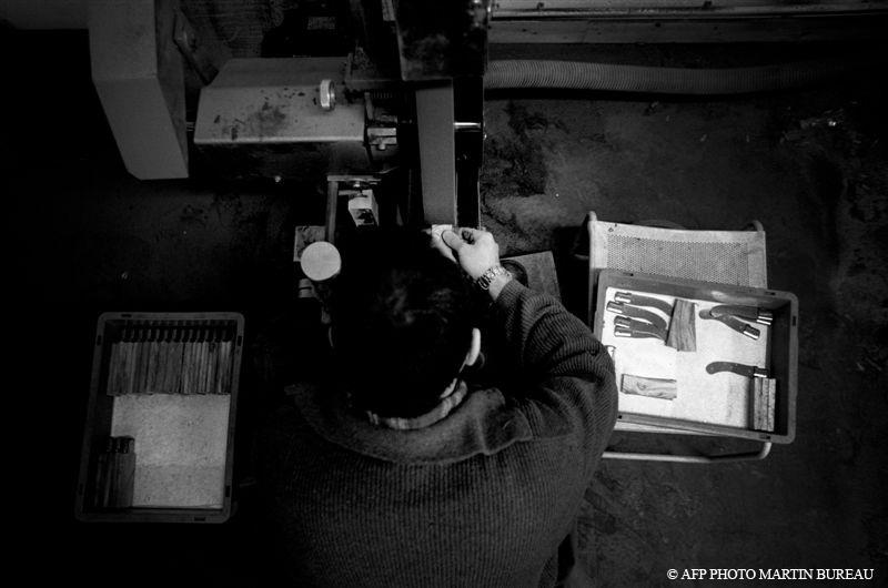 Fabrication Couteaux Laguiole Vendetta Le Thiers St Bernard