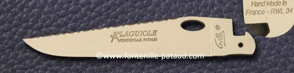 Ouverture à une main (RWL34, entraîne polissage mat) Guilloché