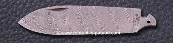 Twist Damascus Stainless Steel 160l
